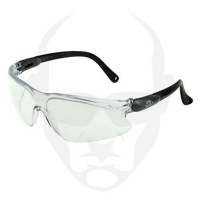 SGA Radar Safety Glasses - Black/Clear