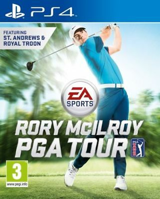 Rory McIlroy PGA TOUR PS4 Playstation 4 Game Brand New In Stock