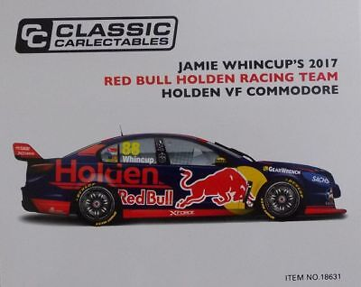 1:18 VF Commodore V8 Red Bull Holden Racing 2017 #88 Jamie Whincup 18631