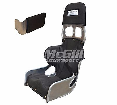 """Ultra Shield Small Adult Double Rib Race Seat + Cover Size 12 or 13"""" Ultrashield"""