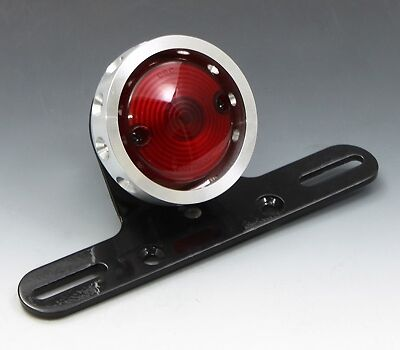 EASYRIDERS Drilled Fin Tail Light Valve Type