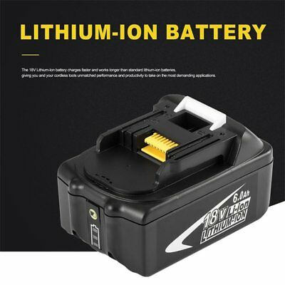 18V 6AH  6000mAh Li-Ion Battery Power Electronic Tool for MAKITA BL1860 AU