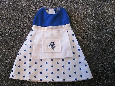 Angelina Ballerina Dress / Outfit -Blue And White Polka Dot Dress