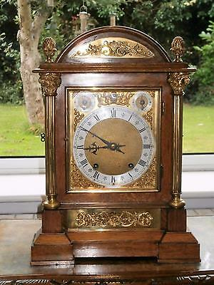 W&H Ting Tang Bracket Clock with Ormolou Mounts in Good Working Order