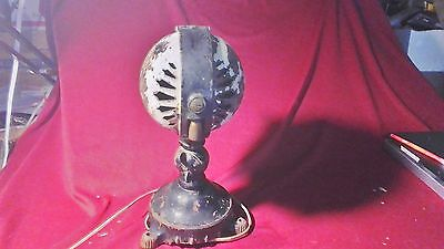 "Rare Antique ""Jandus"" Ball Motor Electric Fan, Tabbed Foot, Patent May 12, 1903"