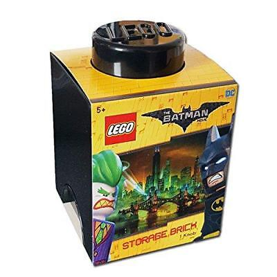 New Lego The Batman Movie Storage Brick Black 1 Knob