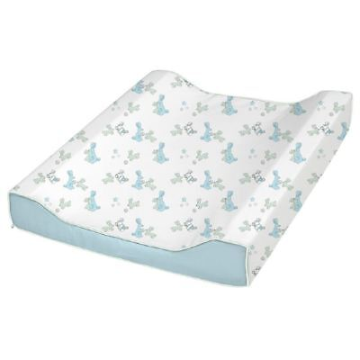 BabyDan Bunny Baby Changing Mat Blue - Padded Soft Deluxe Large Waterproof