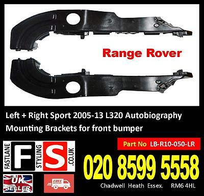 Front bumper wing fender mounting brackets support for Range Rover L322 2010-12