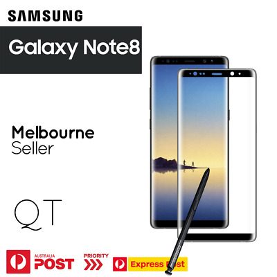 GENUINE Tempered Glass Screen Protector for Samsung Galaxy Note 8 CASE FRIENDLY