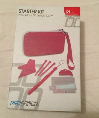Nintendo DSi Starter 9 in 1 Kit Pink
