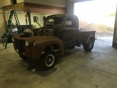 1946 Ford F-100  1946 ford gasser pick up