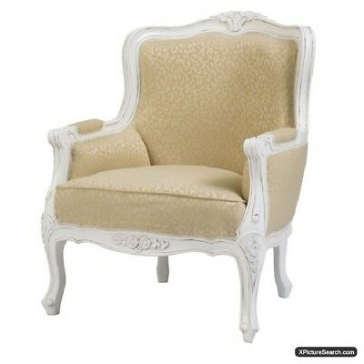 Chateau Cream Armchair - French Furniture - French Armchairs