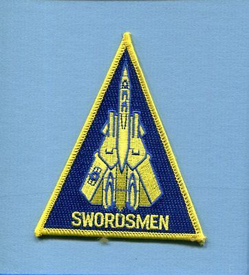 VF-32 SWORDSMEN US NAVY GRUMMAN F-14 TOMCAT Fighter Squadron Jacket Patch