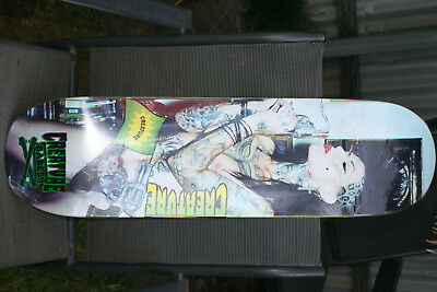 "Creature Babes skateboard deck Malice 8.8"" NEW (166 of 200)"