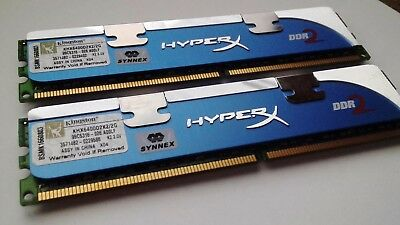Kingston HyperX DDR2 KHX6400D2K2/2GB x2 Desktop RAM PC2-6400 800MHz 240Pin