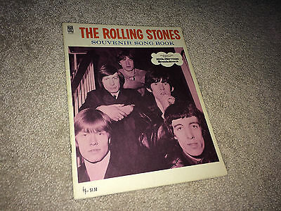 ROLLING STONES 1960s Orig Souvenir Song Book Rock & Roll 19th Nervous Breakdown
