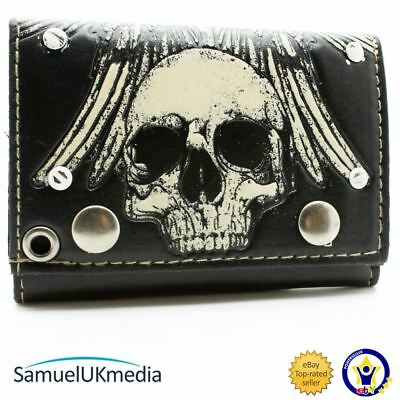 New Official Other Skull Bones Multicoloured Id & Card Tri-Fold Wallet