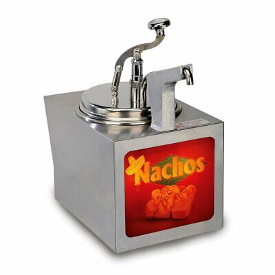 Nacho Cheese Warmer with Heated Pump - Gold Medal #2197NS