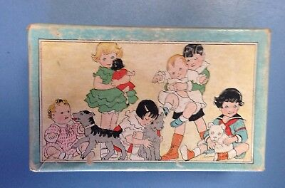 Vintage 1930's Endicott-Johnson Lollypops For Baby's Feet Shoe Box