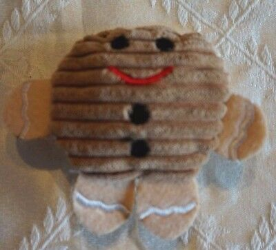 Kong Catnip Xmas Cat Toy Scrattles Christmas Rattle Gingerbread Man