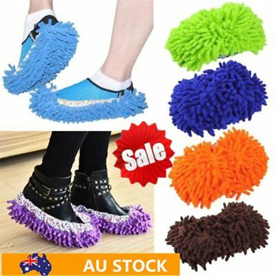 Lazy Dusting Cleaning Foot Cleaner Shoe Mop Slipper Floor Polishing Cover 2 CO