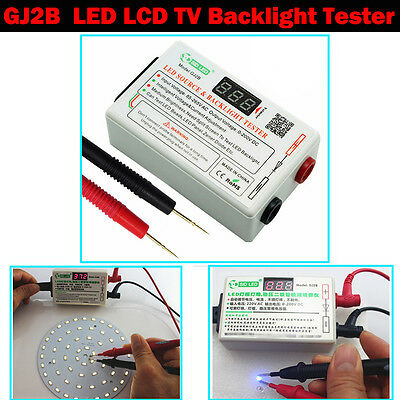 LED LCD TV Backlight Tester Meter Tool Lamp Beads Board Detect Repair Tool0-200V