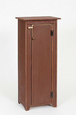 Primitive Rustic Country Wooden Jelly Cabinet - Amish Made - 9 Colors