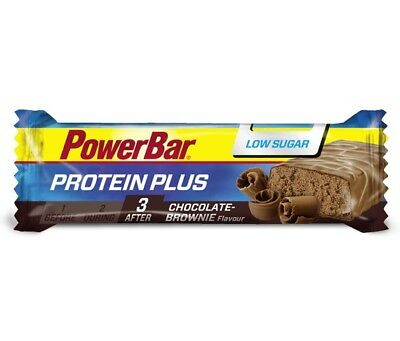 (23,61€/kg) PowerBar Protein Plus Low Sugar - Box 30 x 35g Riegel