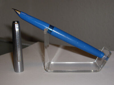 Vintage Waterman blaue Feder
