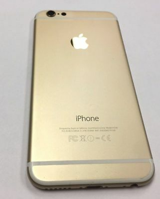 Grade A: Used - Original iPhone 6 Rear Frame Housing Full Complete OEM GOLD