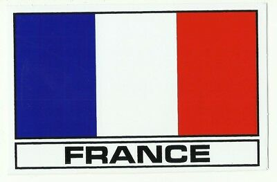 Autocollant Sticker Drapeau France French Dimension 13 X 8,2 Cm