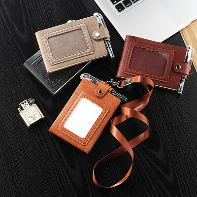 New Leather Portable Notebook Pocket Diary Memo Notepad Journal Planner Note Pad