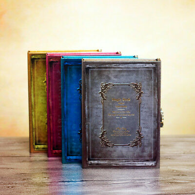 Vintage Notebook Personal Diary Journals With Lock Writing Password Journal