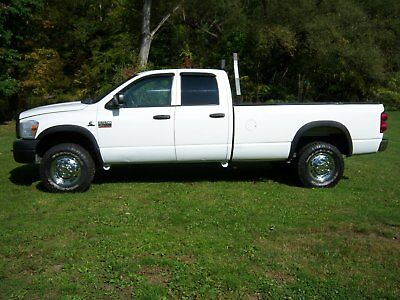 2008 Dodge Ram 3500  2008 Dodge Turbo Cummings, 6.7 Liter,Crew Cab,Single Rear Wheel,Clean Frame,4x4