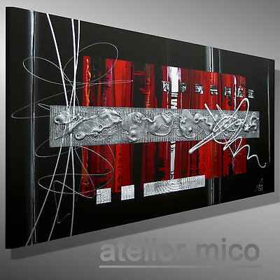mico moderne kunst kaufen bilder malerei original acrylbild struktur gem lde eur 139 00. Black Bedroom Furniture Sets. Home Design Ideas