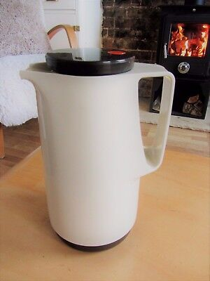 Vintage Mid Century retro Zimmermann Coffee Pot Pitcher Super cool 25cm flask