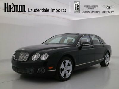 2013 Bentley Continental Flying Spur FLYING SPUR W12 2013 13 BENTLEY FLYING SPUR W12 * CERTIFIED WARRANTY * ONLY 8K MILES * SERVICED