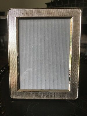 "CHRISTOFLE PICTURE FRAME CLEAR SILVER Mint 7"" x 9"""