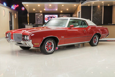1972 Oldsmobile Cutlass  Cutlass! #'s Matching Olds Rocket 350ci V8, TH350 Automatic, PB, PS, Factory A/C