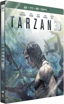 Tarzan [Combo Blu-ray 3D + Blu-ray + Copie digitale - Édition boîtier SteelBook]