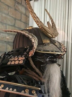 Authentic Japanese Samurai Armor, Museum Quality Case Included In Price