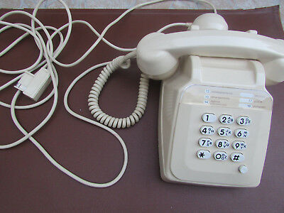 ancien  telephone  Socotel S63 a touches