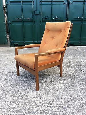 Vintage Mid Century Easy Lounge Armchair (Delivery Available)