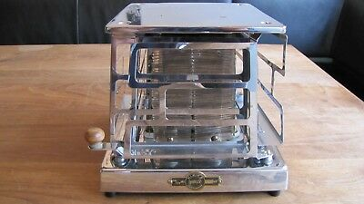 VERY EARLY RARE antique electric MOLLY Toaster 4 slice DUTCH