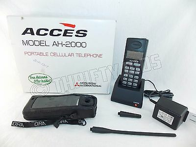 Mitsubishi International Acces AH-2000 Portable Cellular Cell Phone Telephone