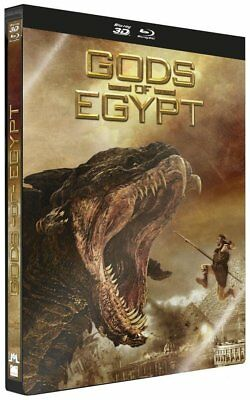 Gods Of Egypt Edition Steelbook [Combo Blu-ray 3D + Blu-ray ] VF Neuf