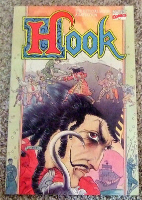 THE OFFICIAL MOVIE ADAPTATION OF HOOK-A MARVEL First Priniting 1991