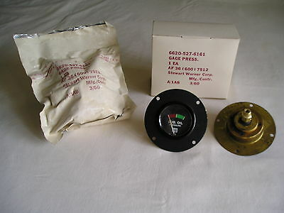 (1) Caterpillar Lube Oil Pressure Gage/Gauge  # 2H2317  NOS