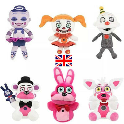 Five Nights at Freddy's Sister  At Freddy's FNAF Toys Stuffed Plush soft Doll uk