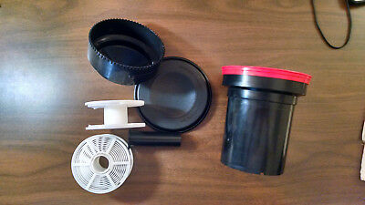 Paterson Darkroom Developing Tank and 2 Wheels Excellent Condition